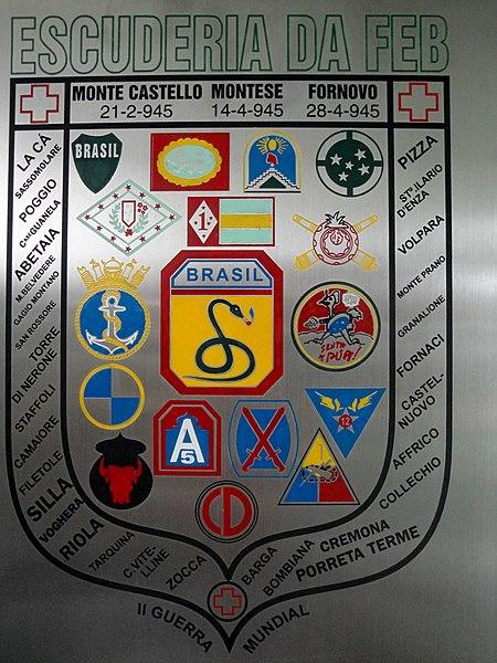 File:Centro de Documentação da II Guerra Mundial Cap. Enfermeira FEB Altamira Pereira Valadares. Escuderia da FEB, com destaque para as vitórias de Monte Castello (21-2-1945), Montese (14-4-1945) e Fornovo (28 - panoramio.jpg