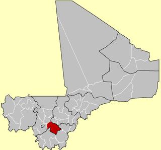 Dioïla Cercle Cercle in Koulikoro Region, Mali