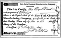 Certificate of Stock of Chemical Mfg Company 1824.png