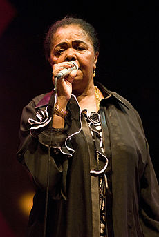 Толстая певица негритоска