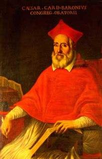 Caesar Baronius Catholic cardinal and church historian
