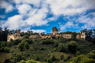 Saschiz - Image: Cetatea Taraneasca de la Saschiz , vedere panoramica