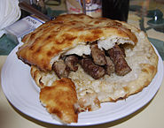 Cevapi in Travnik