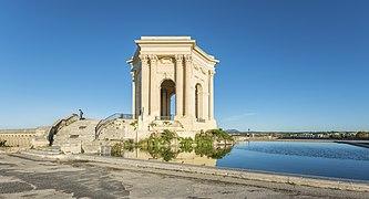 Château d'eau du Peyrou, Montpellier 05.jpg