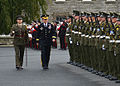 Chairman of the Joint Chiefs of Staff Gen. Martin E. Dempsey reviews the Irish Honor Guard at Cathal Brugha Barracks in Dublin, Ireland, on Aug 120831-D-VO565-006.jpg