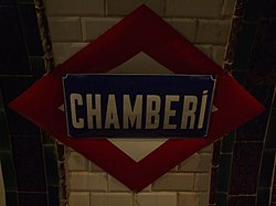 Chamberí (stanice metra)