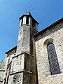 Champagnac-de-Belair église clocher latéral.JPG
