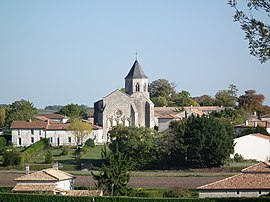 A general view of Champagnac