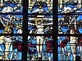 Champeaux (35) Collégiale Ste-Madeleine Maîtresse-vitre Détail 03.jpg
