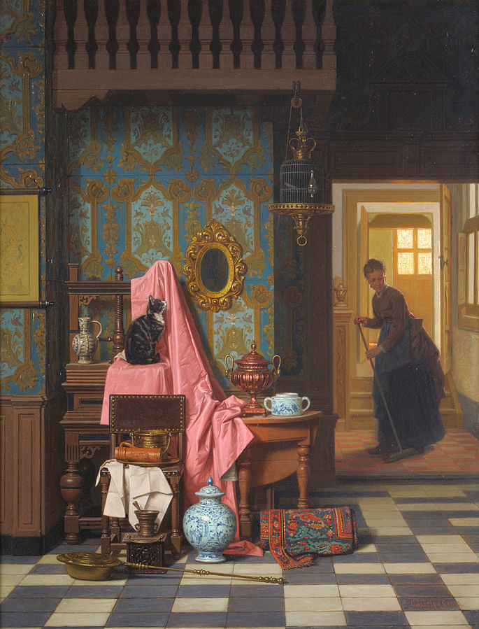 File:Charles Joseph Grips - Opportunity Makes a Thief, 1875.jpg