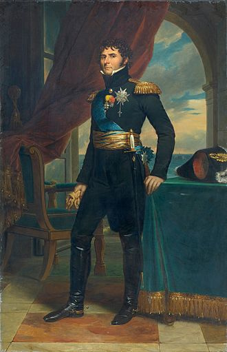 Charles XIV John of Sweden - Portrait by François Gérard