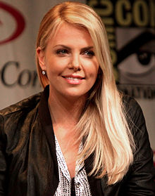 Wikipedia: Charlize Theron at Wikipedia: 220px-Charlize_Theron_WonderCon_2012