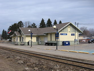 Charny, Quebec - Via Rail's Charny railway station