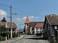 Chaux, église Saint-Martin in straatzicht foto2 2013-07-22 10.42.jpg