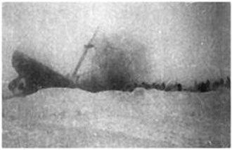 SS Chelyuskin - Sinking of the Chelyuskin.