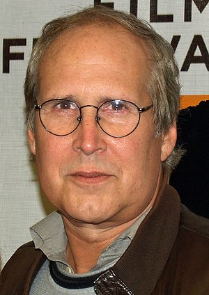 Chevy Chase and his wife Jayni