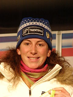 Chiara Costazza Italian skier