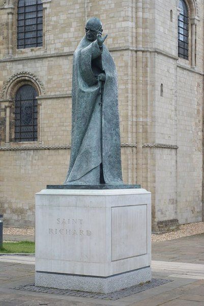 File:Chichester - Statue of Saint Richard - geograph.org.uk - 1350333.jpg