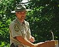 Chief Ranger Brad Thomas addresses the YCC (7584129372).jpg