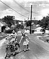 Children at Play on the Street in Oak Ridge 1948 (9366000464).jpg