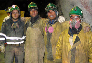 History of mining in Chile - Chilean copper miners