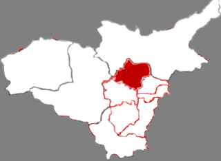 Jiancaoping District District in Shanxi, Peoples Republic of China