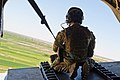 Chinook Door Gunner Over Afghanistan MOD 45157906.jpg