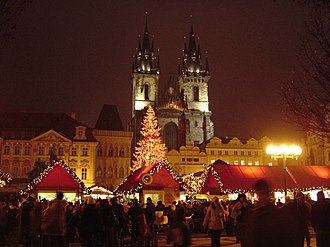 Old Town Square - Prague Christmas Markets