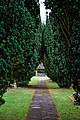 Church of St Andrew, Nuthurst, West Sussex churchyard path.jpg