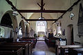Church of St Christopher, Willingale, Essex, England - interior nave from west.JPG