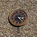 Church of St Mary Little Easton Essex England tower clock.jpg