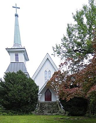 Church of the Transfiguration (Saluda, North Carolina) - Image: Church of the Transfiguration
