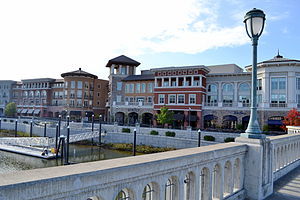 Napa, California - A view of the city at the Napa River waterfront