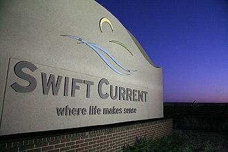 Swift Current - Image: Citysign 1