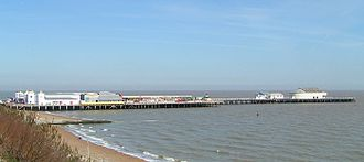 Clacton Pier - Clacton Pier viewed from the south west