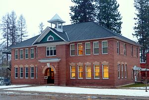 National Register of Historic Places listings in Stevens County, Washington - Image: Clayton School Clayton Washington