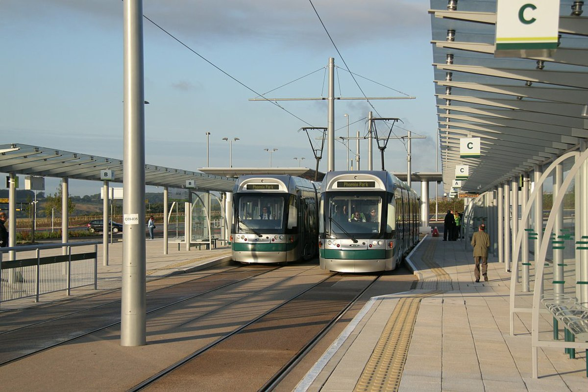Cars On Line >> Clifton South tram stop - Wikipedia