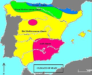 Climate of Spain Overview of the climate of Spain