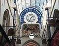 Clock, Thornton's Arcade 8 March 2010.jpg