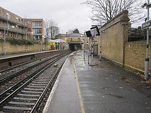 Clock House railway station - Image: Clock House railway station, Greater London