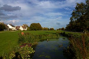 Barrington, Cambridgeshire - Pond and village green