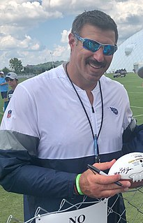 Mike Vrabel American football player, coach