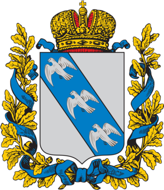 Kursk Governorate - Coat of arms of Kursk Governorate