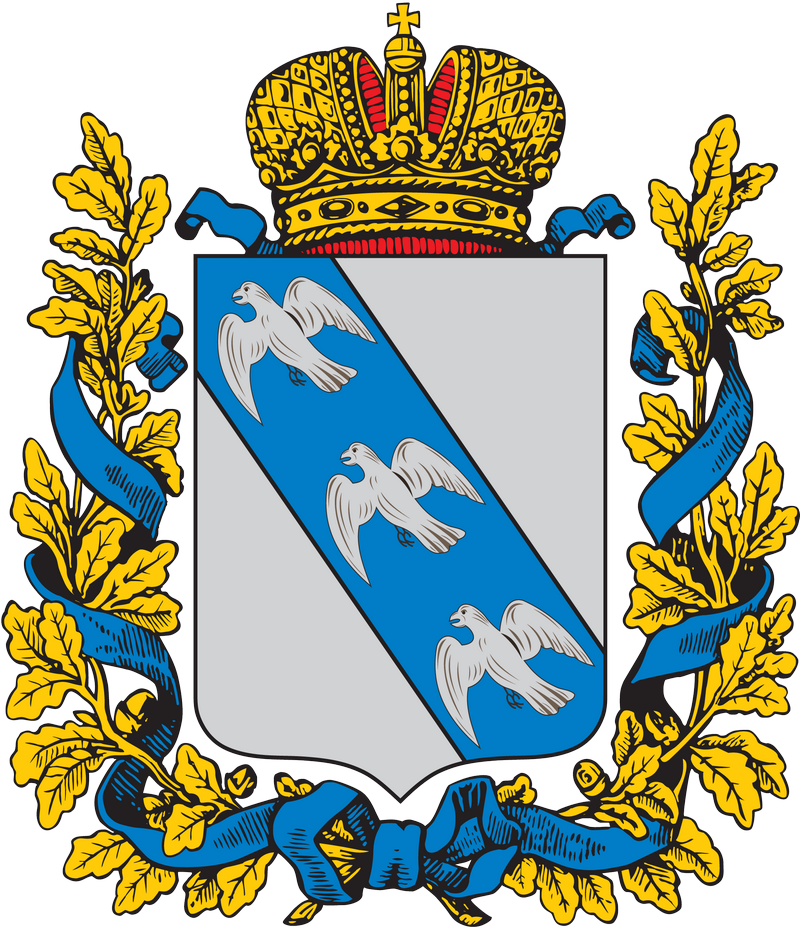 Coat of Arms of Kursk gubernia (Russian empire)