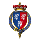 Coat of Arms of Sir William Herbert, 1st Baron Herbert, KG.png