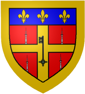 Gallery of French coats of arms - Le Mans