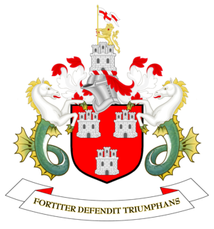Newcastle City Council - Image: Coat of arms of Newcastle upon Tyne City Council