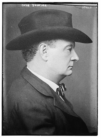 Cole Younger - Cole Younger, c. 1915