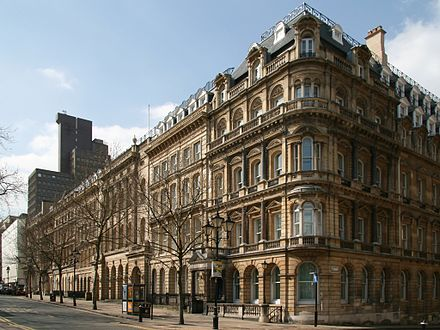 Colmore Row, at the heart of Birmingham's Business District, is traditionally the most prestigious business address in the city. ColmoreRowBirmingham.jpg