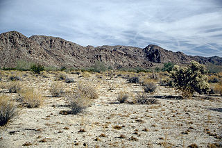 desert in California, United States